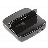 Samsung - Galaxy S III - Desktop Dock - Chrome Blue