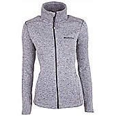 Nevis Full Zip Womens Fleece - Grey