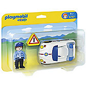 Playmobil 6797 1.2.3 Police Car
