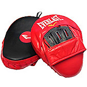 Everlast Mantis Leather Hook & Jab Focus Pads Punch Mitts