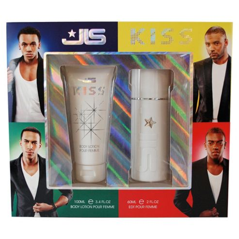 JLS Kiss 60ml EDT Spray & 100ml Body Lotion Gift Set