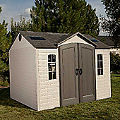 Lifetime plastic shed 10 x 8