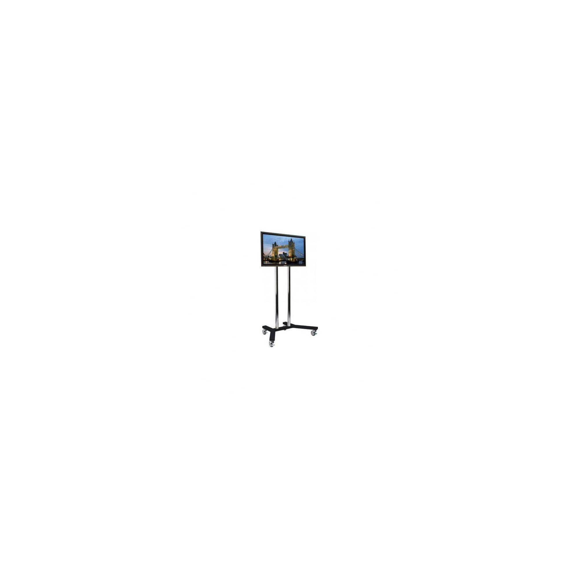 B-tech Heavy Duty Flat Screen TV Stand - Black at Tesco Direct