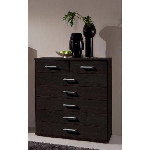 Amos Mann furniture Venice 7 Drawer Chest of Drawer - Wenge
