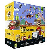 Wii U Premium Pack + Super Mario Maker + amiibo