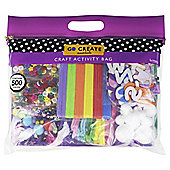 Go Create Craft Activity Bag 500 pieces