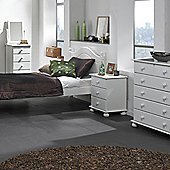Nordic 2+4 Drawer Chest White