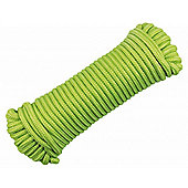 "Polypropylene Glow in the Dark Rope 3/16"" 15m/50ft"
