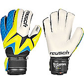 Reusch Waorani Pro M1 Ortho-Tec Goalkeeper Gloves - Yellow