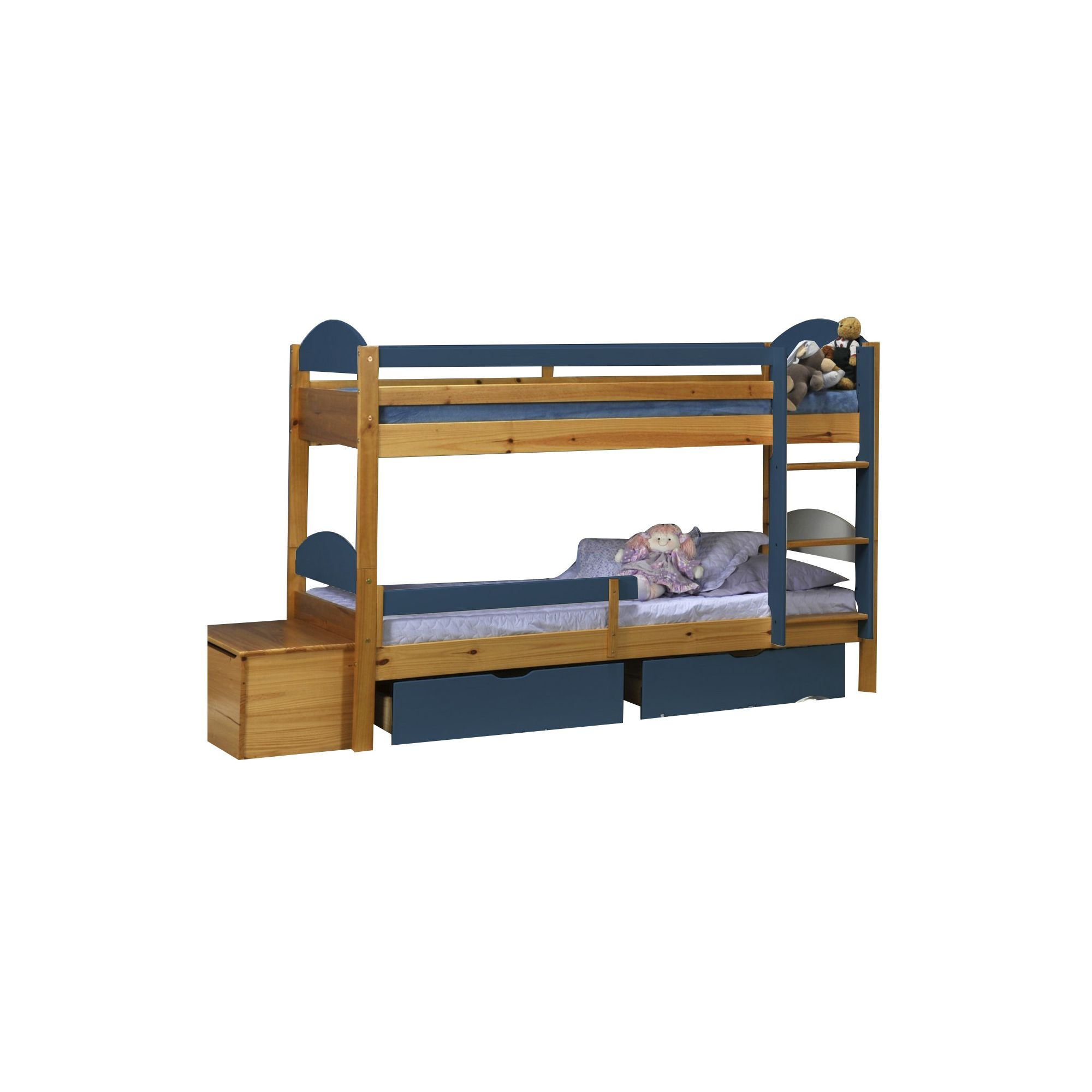 Verona Maximus Bunk Bed - Blue at Tesco Direct