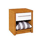 Premier Housewares Hudson 1 Drawer Bedside Table