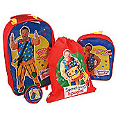 Something Special Mr Tumble 4-Piece Kids' Luggage Set