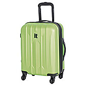 IT Luggage Ultra Strong 4-Wheel Hard Shell Suitcase, Lime Small