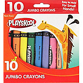 Playskool 10 Jumbo Crayons - Arts and Crafts