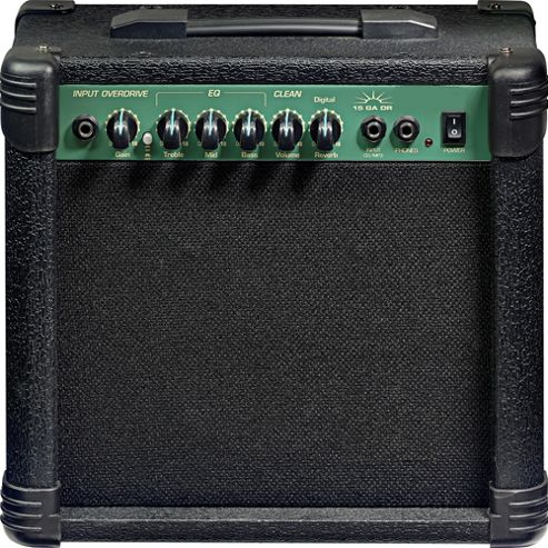 Rocket 15GA 15W RMS Guitar Practice Amplifier