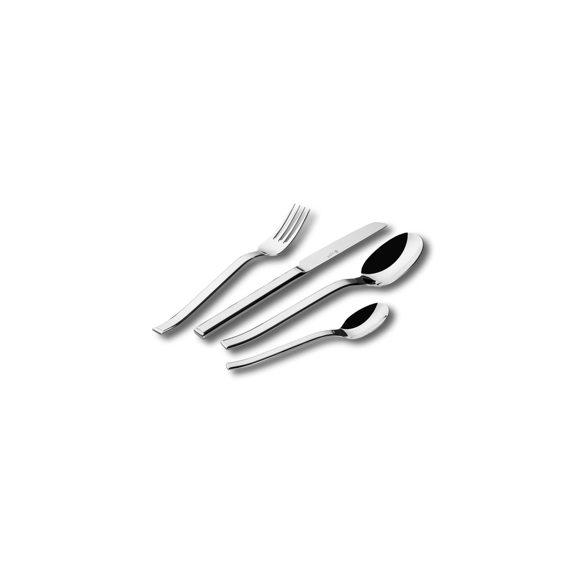 Paul Wirths Arctic 58 Piece Cutlery Canteen Set in Satin at Tesco Direct