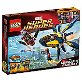 LEGO Super Heroes Starblaster Showdown 76019