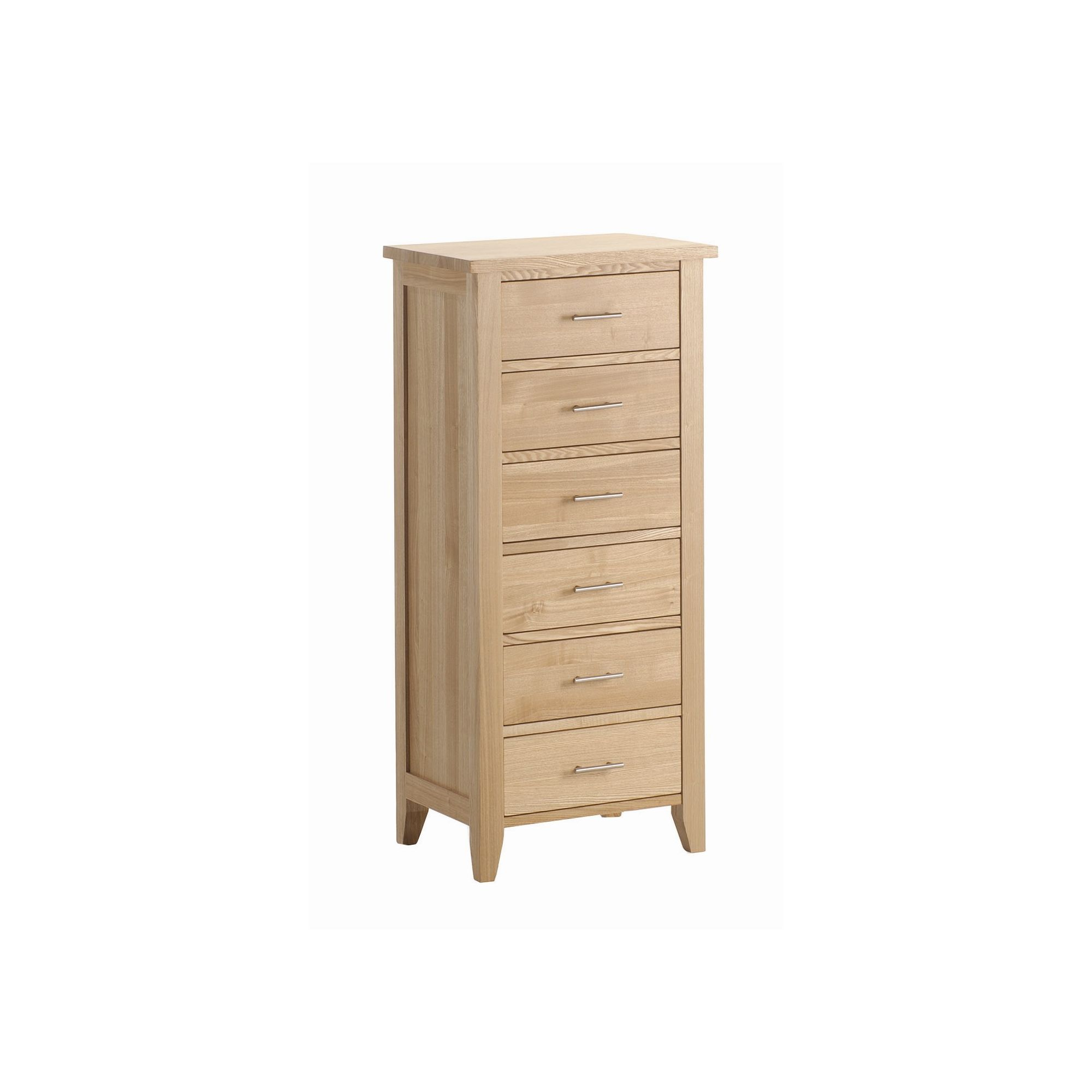 Kelburn Furniture Carlton Ash 6 Drawer Wellington at Tesco Direct
