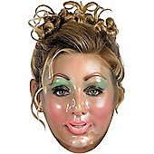 Adult Transparent Young Woman Mask