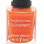 Max Factor Glossfinity Nail Polish 11ml - 80 Sunset Orange