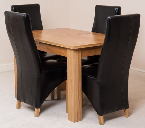 Buy hampton solid oak extending 120 160 cm dining table for 120 dining table sets
