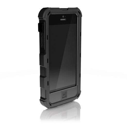 Ballistic HC HardCore Clip-On Case Cover for iPhone 5/5S - Black