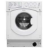 Hotpoint Aquarius Built-In Washing Machine, BHWM129/2, 7KG Load, White