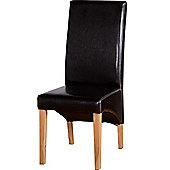 Home Essence G1 Dining Chair in Expresso Brown (Set of 2)