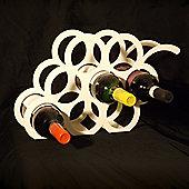 The Metal House Grape Wine Rack - Ivory