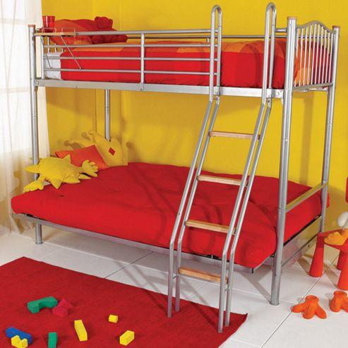 Hyder Alaska Futon Bunk Bed