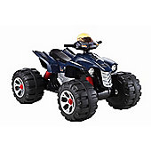 BIG Ride On Electric Raptor Quad Bike 12V Blue
