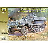 Zvezda - German Personnel Carrier SD.KFZ.251/1 AUSF.B - 1:35 Scale 3572