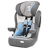 Obaby Group 1-2-3 Highback Booster Car Seat, Tiny Tatty Teddy Grey