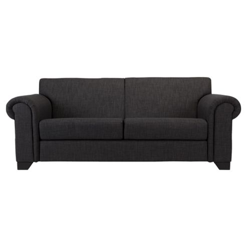 Chester fabric medium sofa charcoal