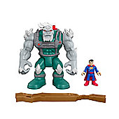 Imaginext DC Super Friends Doomsday & Superman