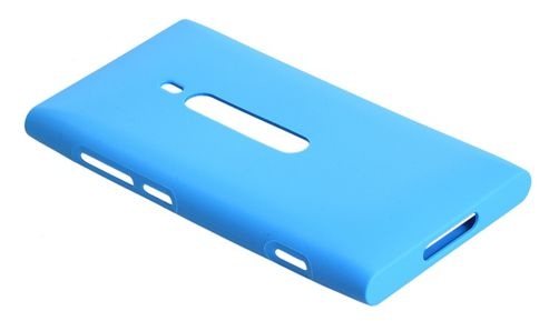 Nokia Original Soft Case for Nokia Lumia 800 - Cyan