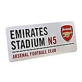 Arsenal FC Emirates Stadium Street Sign