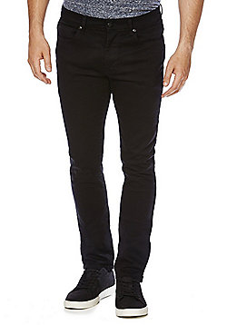 F&F Black Skinny Stretch Jeans - Black