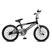 "11"" Rooster Big Daddy, 20"" Spoked Wheel, Black/White"