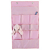 Tesco Kids Hanging Storage Set Pink