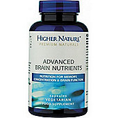 Higher Nature Advanced Brain Nutrients 90 Veg Capsules