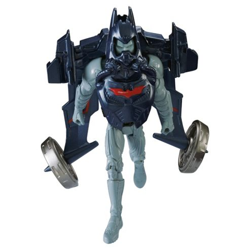 Batman The Dark Knight Rises QuickTek Flight Strike Batman Deluxe Action Figure