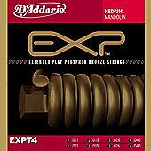D'Addario EXP74 Coated Mandolin Strings