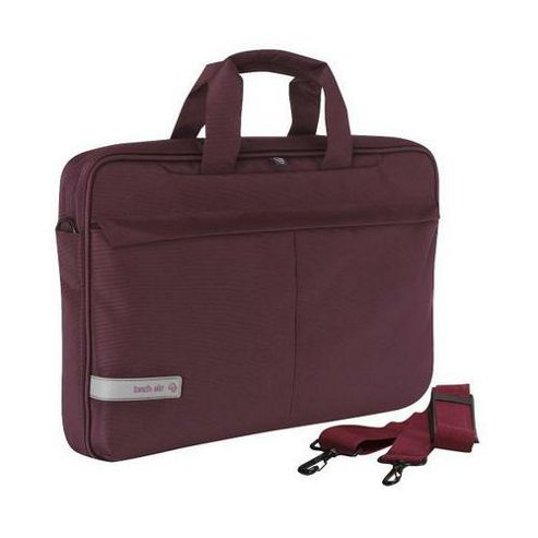 Techair Classic Notebook Case (Plum) for 15 inch - 15.6 inch Laptops