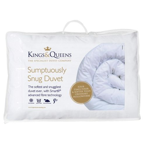 Kings & Queens Sumptuously Snug Duvet, Double, 10.5 Tog