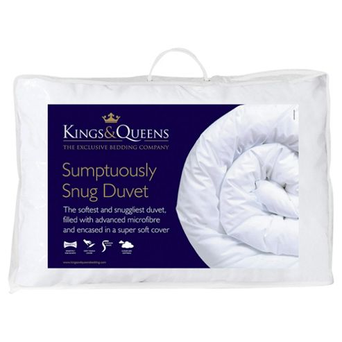 Kings & Queens Sumptuously Snug 10.5 Tog Duvet, Double