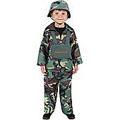 Army Boy - Child Costume 9-10 years