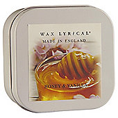 Wax Lyrical Honey And Vanilla Filled Tin Candle