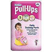 Huggies Pull-Ups Potty Training Pants - Size 4 - Small - Girl - 16 Pack
