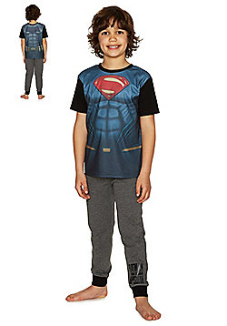 DC Comics Batman V Superman Reversible Pyjamas - Multi